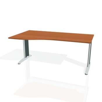 Psací stůl Hobis FLEX FE 1000 pravý, třešeň/kov