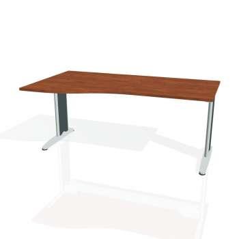 Psací stůl Hobis FLEX FE 1000 pravý, calvados/kov