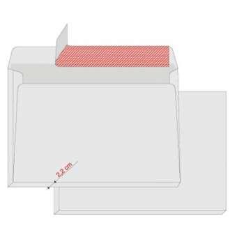 Obálky Elco B4 - samolepicí s rozšířeným dnem, s krycí páskou, 200 ks