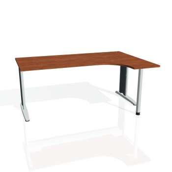 Psací stůl Hobis FLEX FE 1800 levý, calvados/kov