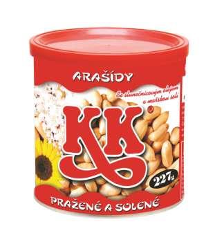 KK arašídy - v plechu, 227 g