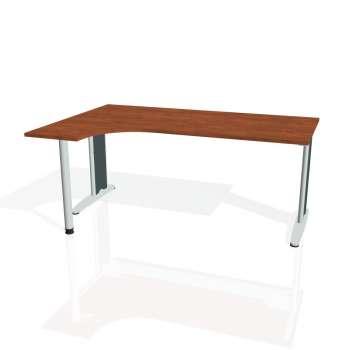 Psací stůl Hobis FLEX FE 1800 pravý, calvados/kov