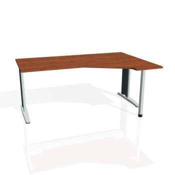 Psací stůl Hobis FLEX FEV 1800 levý, calvados/kov