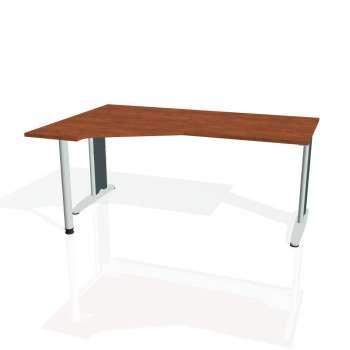 Psací stůl Hobis FLEX FEV 1800 pravý, calvados/kov