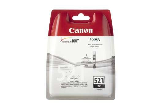 Cartridge Canon CLI-521BK - černá