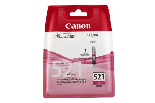 Cartridge Canon CLI-521M - purpurová