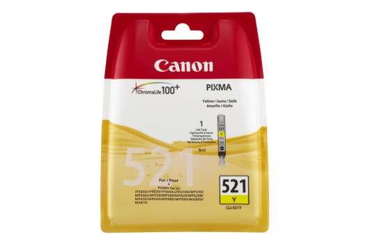 Cartridge Canon CLI-521Y - žlutá