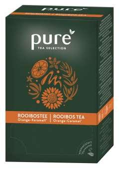 Čaj PURE TEA Selection - Rooibos, pomeranč, karamel, 25 x 3 g