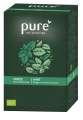Bylinný čaj Pure - máta, 25x 1,5 g