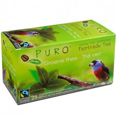 Čaj Fair Trade Puro zelený - 25 x 2 g