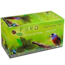 Fair Trade čaj Puro zelený 25 x 2 g