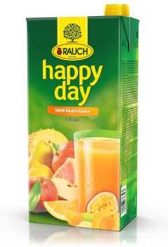 Džus HAPPY DAY - multivitamín 100 %, 2 l