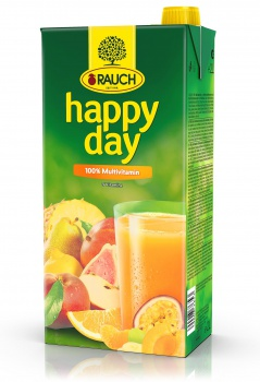 Džus HAPPY DAY - multivitamin, 2 l
