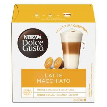 Kapsle Nescafé Dolce Gusto Latte Macchiato, 16 ks