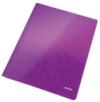 Rychlovazač LEITZ WOW- A4, laminovaný karton, purpurový