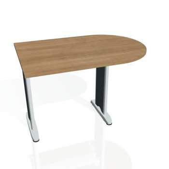 Přídavný stůl Hobis FLEX FP 1200 1, višeň/kov