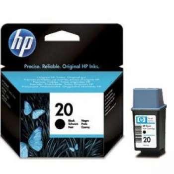 Cartridge HP C6614D/20 - černá