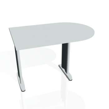 Přídavný stůl Hobis FLEX FP 1200 1, šedá/kov