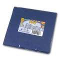 Papírové ubrousky - dvouvrstvé, modré, 20 ks