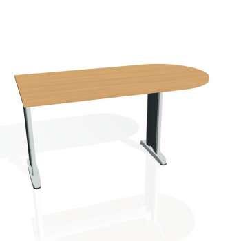 Přídavný stůl Hobis FLEX FP 1600 1, buk/kov