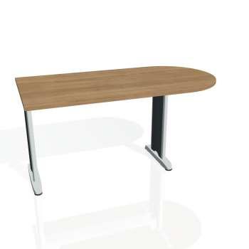 Přídavný stůl Hobis FLEX FP 1600 1, višeň/kov