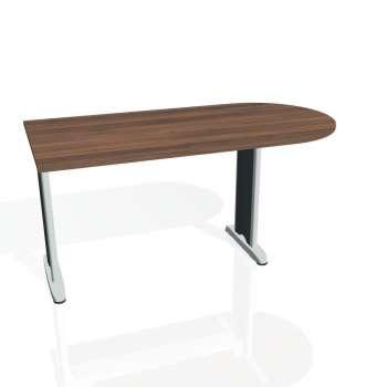 Přídavný stůl Hobis FLEX FP 1600 1, ořech/kov