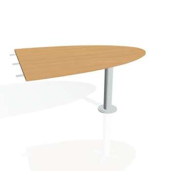 Přídavný stůl Hobis FLEX FP 1500 2, buk/kov