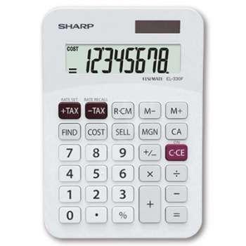 Stolní kalkulačka Sharp EL-330F - bílá