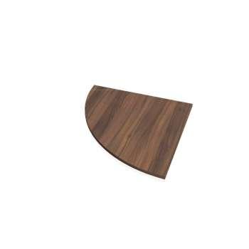 Přídavný stůl Hobis FLEX FP 900 levý, ořech