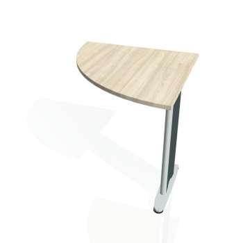 Přídavný stůl Hobis FLEX FP 901 levý, akát/kov