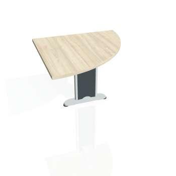 Přídavný stůl Hobis FLEX FP 901 pravý, akát/kov