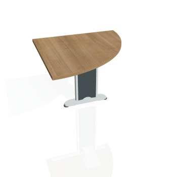Přídavný stůl Hobis FLEX FP 901 pravý, višeň/kov