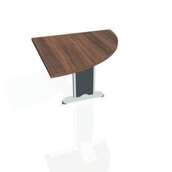 Přídavný stůl Hobis FLEX FP 901 pravý, ořech/kov