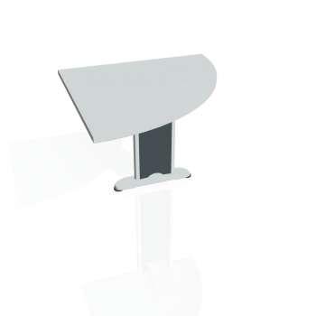 Přídavný stůl Hobis FLEX FP 901 pravý, šedá/kov
