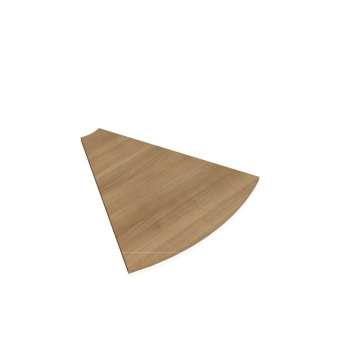 Doplňkový stůl FLEX, deska kruh 45°