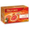 Ovocný čaj Milford - Červený pomeranč, 20 x 2,5 g