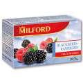 Ovocný čaj Milford ostružina a malina, 20x 2,5 g
