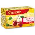 Ovocný čaj Milford třešeň a citron, 20x 2,5 g