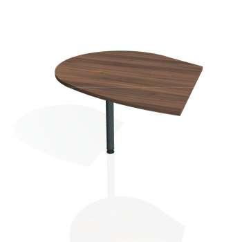 Přídavný stůl Hobis FLEX FP 20 levý, ořech/kov
