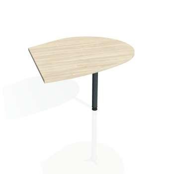 Přídavný stůl Hobis FLEX FP 20 pravý, akát/kov