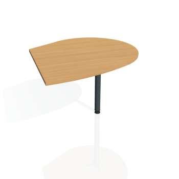Přídavný stůl Hobis FLEX FP 20 pravý, buk/kov