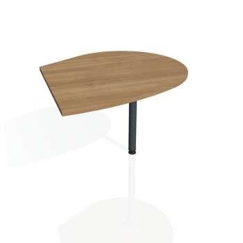 Přídavný stůl Hobis FLEX FP 20 pravý, višeň/kov