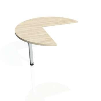 Přídavný stůl Hobis FLEX FP 21 levý, akát/kov