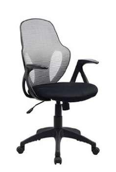 Kancelářská židle RS Austin, černá/šedá