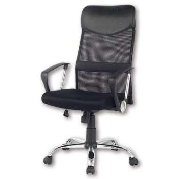 Kancelářská židle Niceday Mosil - bez područek, černá