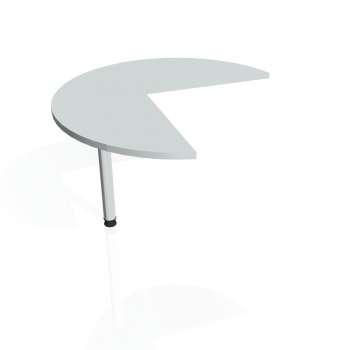 Přídavný stůl Hobis FLEX FP 21 levý, šedá/kov