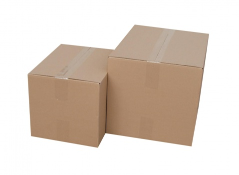 Krabice kartonové 3vrstvé - skladovací, 45,4 x 30,4 x 32,8 cm, 6 kg