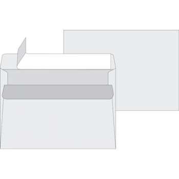 Obálky Office Depot - C5, samolepicí, s krycí páskou, 50 ks