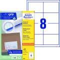Univerzální etikety Avery Zweckform - bílé, 97 x 67,7 mm, 800 ks