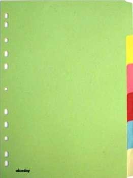 Rozlišovač Office Depot barevný papírový A4, 12 listů